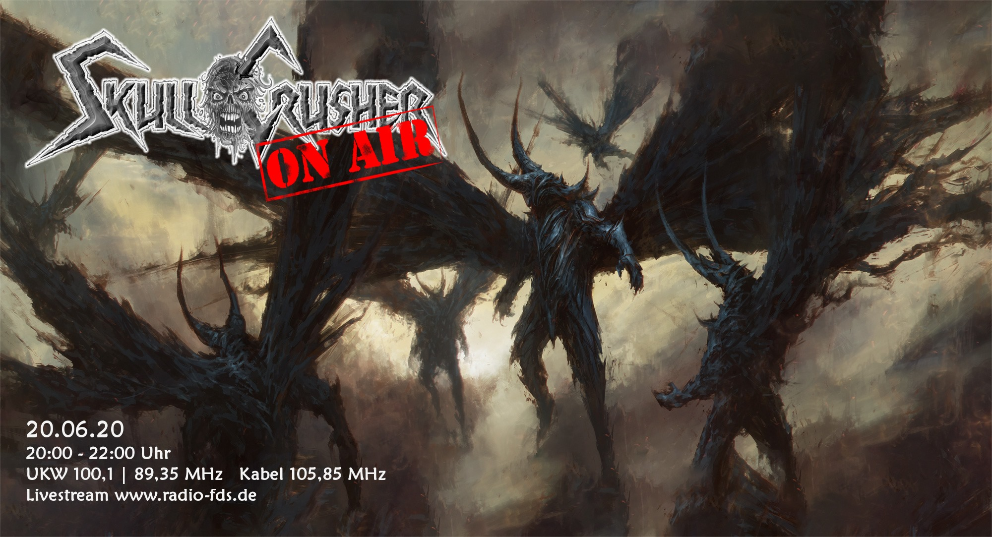 Deaf Aid - Radio SkullCrusher on Air