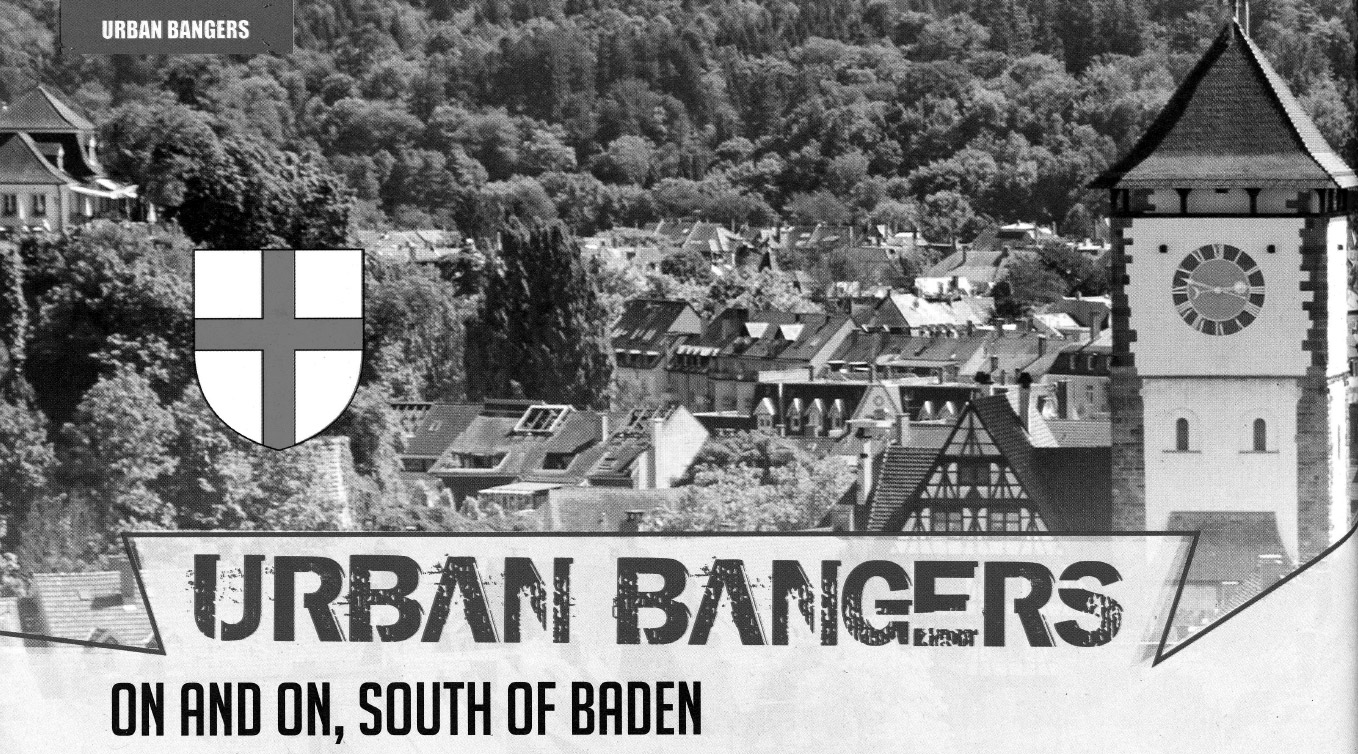 Urban Bangers, on and on, South of Baden